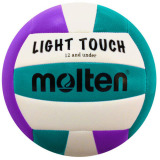 Molten MS240 Light Touch Volleyball Violet/Aqua