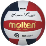 Molten Super Touch IV58L Volleyball Red/White/Blue