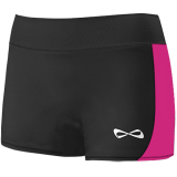 Nfinity Women's Panel Bootie Spandex Shorts - 3 Inseam