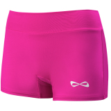 Nfinity Women's Solid Bootie Spandex Shorts - 3 Inseam