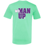 No Excuses - Woman Up Volleyball T-Shirt