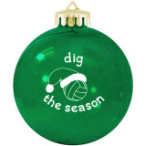 Volleyball Ornament - Dig the Season