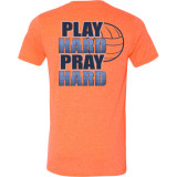Game Faith Athletics - Play Hard, Pray Hard Volleyball T-Shirt