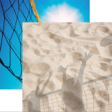 Scrapbook Page - Beach Volleyball