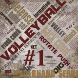 Scrapbook Page - Volleyball Extreme