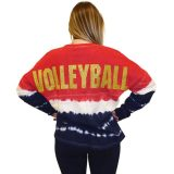 Spirit Volleyball Jersey - Red/White/Blue