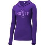 Stay Humble Volleyball Pullover Purple