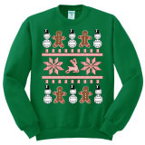 Ugly Christmas Volleyball Sweatshirt