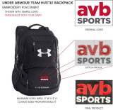Under Armour 1272782 Team Hustle Backpack
