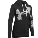 Under Armour Exploded Logo Volleyball Hoodie - Black