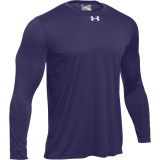 Under Armour Men's Locker T 2.0 Long Sleeve Jersey Purple