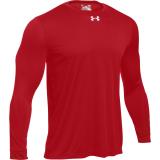 Under Armour Men's Locker T 2.0 Long Sleeve Jersey Red