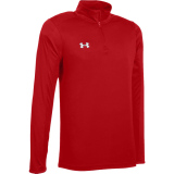 Under Armour Men's Novelty Locker 1/4 Zip Red