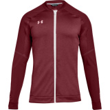 Under Armour Men's Qualifier Hybrid Warm-Up Jacket Cardinal