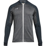 Under Armour Men's Qualifier Hybrid Warm-Up Jacket Grey