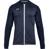 Under Armour Men's Qualifier Hybrid Warm-Up Jacket Navy