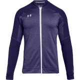 Under Armour Men's Qualifier Hybrid Warm-Up Jacket Purple