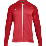 Under Armour Men's Qualifier Hybrid Warm-Up Jacket Red