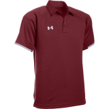 Under Armour Men's Rival Polo Cardinal/Grey