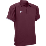 Under Armour Men's Rival Polo Maroon/Grey