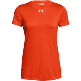 Under Armour Women's Locker T 2.0 Short Sleeve Jersey Orange