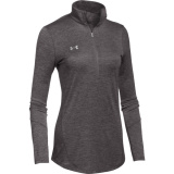 Under Armour Women's Novelty 1/2 Zip Charcoal