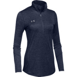 Under Armour Women's Novelty 1/2 Zip Navy