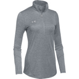 Under Armour Women's Novelty 1/2 Zip Steel