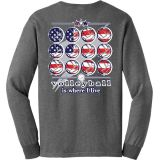 USA Volleyball Is Where I Live Long Sleeve T-Shirt