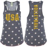 USA Volleyball Stars Tank Top