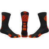 Volley Crew Socks Black/Orange