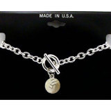 Toggle Volleyball Charm Bracelet