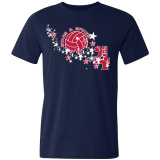 Volleyball Fourth of July T-Shirt (Unisex)