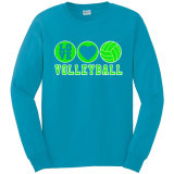 Volleyball Love Long Sleeve T-Shirt