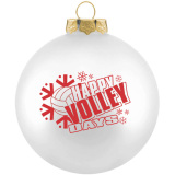 Volleyball Ornament - Happy Volleydays