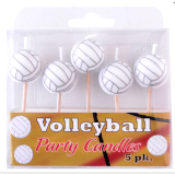 Volleyball Party Supplies - Candles