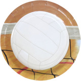 Volleyball Party Supplies - Small Plate