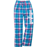 Volleyball Plaid Flannel Pants