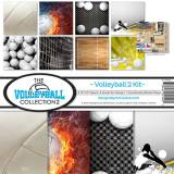 Volleyball Scrapbook Kit - #2