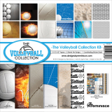 Volleyball Scrapbook Kit - Deluxe