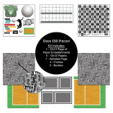 Volleyball Scrapbook Kit - Go Big