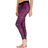 Stripe Volleyball Leggings