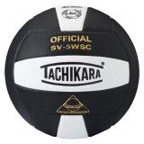 Tachikara SV5WSC 2-Color Volleyball Black/White
