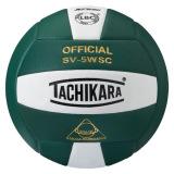 Tachikara SV5WSC 2-Color Volleyball Dark Green/White