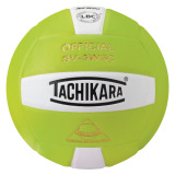 Tachikara SV5WSC 2-Color Volleyball Lime/White