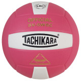 Tachikara SV5WSC 2-Color Volleyball Pink/White