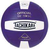 Tachikara SV5WSC 2-Color Volleyball Purple/White
