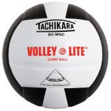 Tachikara SVMNC Volley-Lite® Color Volleyball Black/White