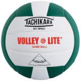 Tachikara SVMNC Volley-Lite® Color Volleyball Dark Green/White