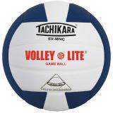 Tachikara SVMNC Volley-Lite® Color Volleyball Navy/White